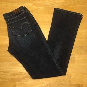 Levi's Bootcut Skinny Jeans (Modern Rise)